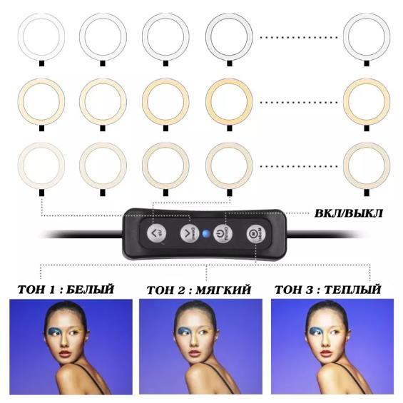 LED лампа кольцевая - идеальное решение красоты!